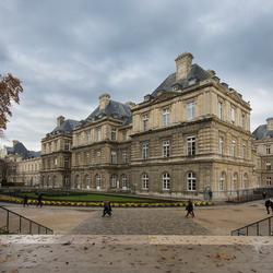 Parijs - Jardin du Luxembourg - Palais du Luxembourg