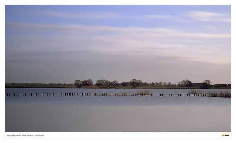 Smalle Ee - Redelijk vroeg in de ochtend naar het (zwem)strandje bij Smalle Ee om long-exposure foto's te schieten mbv reen B&W ND110 en stat