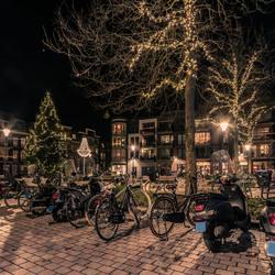 Kerst op het dorpsplein