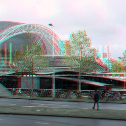 Serie GF3 stereo-rig  Rotterdam anaglyph red/cyan