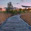 Zonsondergang De Groote Peel