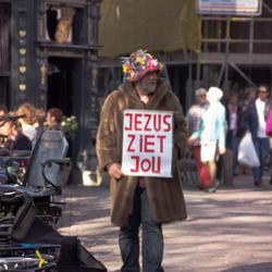 Jezus ziet jou...
