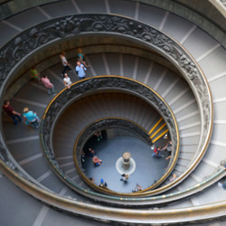 Trap in Vaticaansmuseum