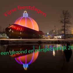 Groningen: grootste kerstbal ter wereld
