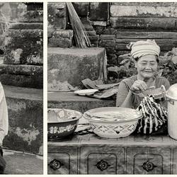 Bali, ontbijt in Ubud