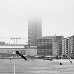 Oostende in de mist