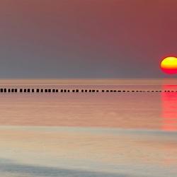 Zonsondergang in Zeeuws Vlaanderen