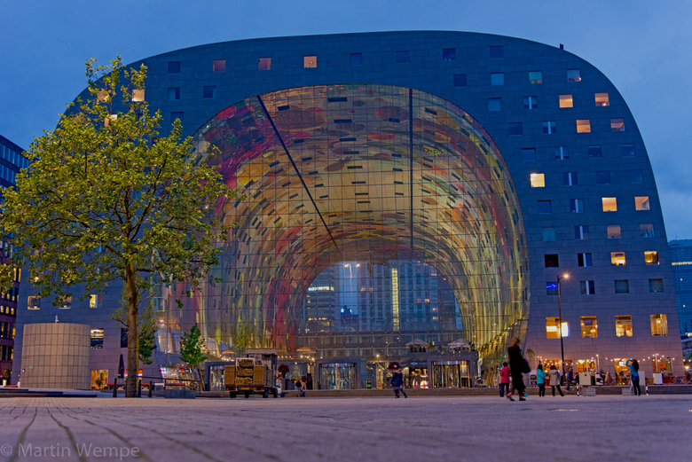 Markthal Rotterdam - Als je als fotograaf naar Rotterdam gaat kan je het eigenlijk niet laten om de Markthal vast te leggen.