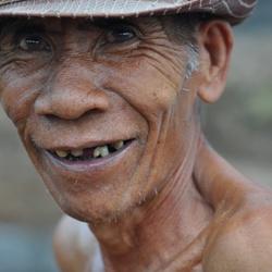 Bouwvakker op Lombok
