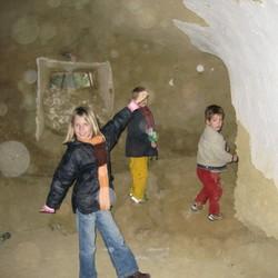 Veel Orbs in het grotje...
