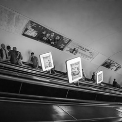 De metro in Kiev