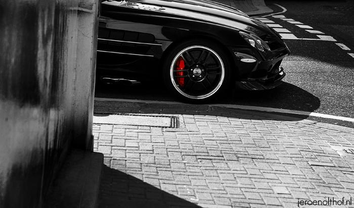 Mercedes-Benz McLaren SLR 722 Edition - Dure auto komt even om het hoekje kijken.