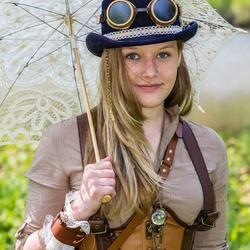 Steampunk girl (Elfia 2014)