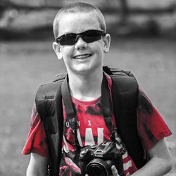 De kleine fotograaf