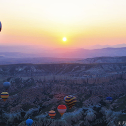 Sunrise in a Balloon
