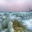 ijslandschap aan het Markermeer