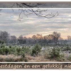 Winterse kerstgroet