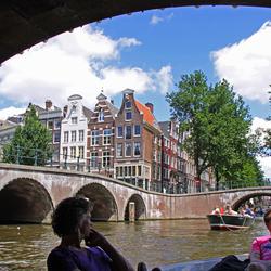 Boottochtje door Amsterdam