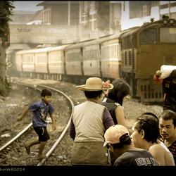 Leven tussen de rails