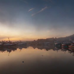 Honfleur_Port_Fog_2015