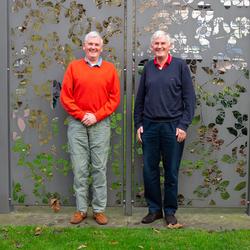 Eeneiige tweeling Peter en Menno 2
