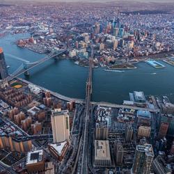 Brooklyn Bridge van boven