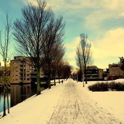 Een winters plaatje van afgelopen jaar.