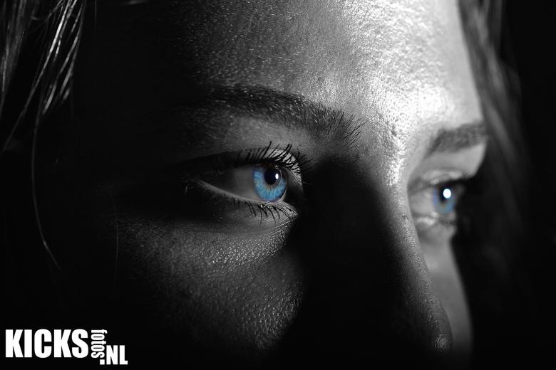 Blue eyes -