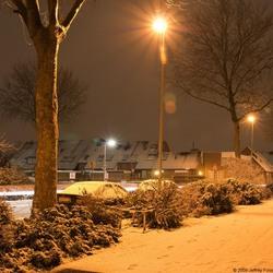 Eerste Nacht foto in de winter 2