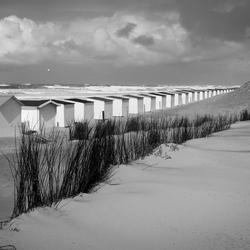 Texel - strandhuisjes bij Paal 9...(3)