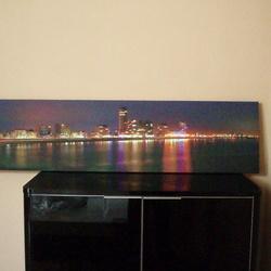 Bewerking: Nacht panorama vlissingen
