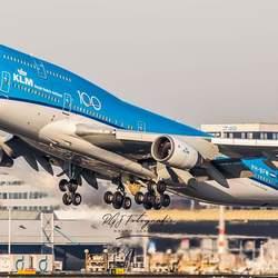 KLM B747 PH-BFW