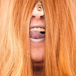 Mijn haar met rits
