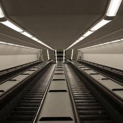 Wooden Escalators
