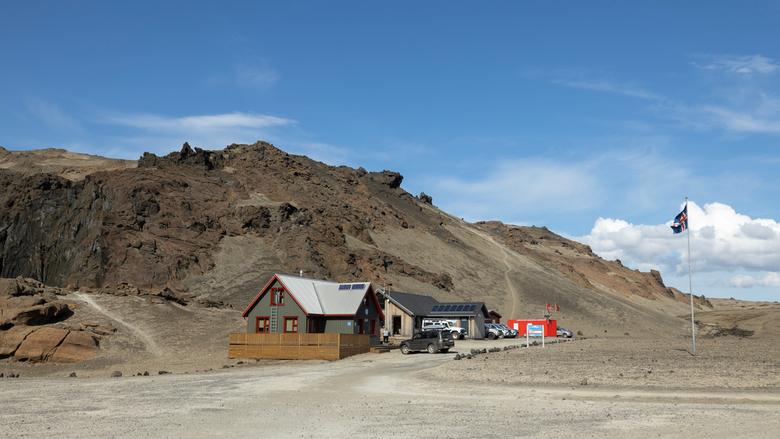 Askja, IJsland - Ranger hut