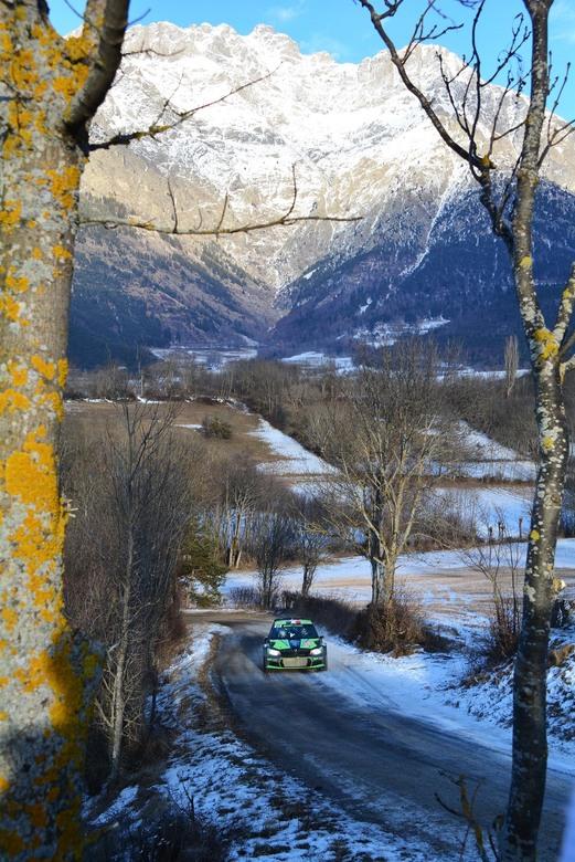 the famous rally de monte carlo -