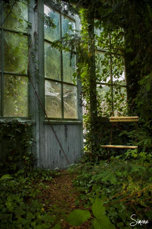 Atelier Decor - Dit prachtige leegstaande Atelier in België vormt een sprookjesachtig tafereel.