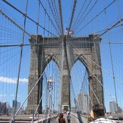 Brooklyn Bridge on shirt...