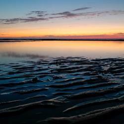 een avond op het strand