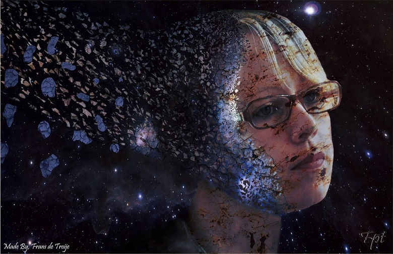 Disapering in space - eerst echte Photoshop projectje!!<br /> <br />