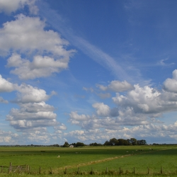 De Ronde Hoep onder wolken