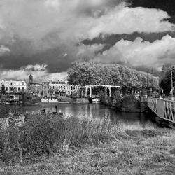 Utrecht, bruggen bij De Munt