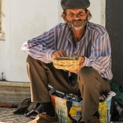 Beggar in Lagos