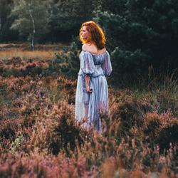 Girl on the heath 1/3