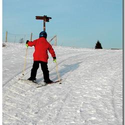 kleine skieer