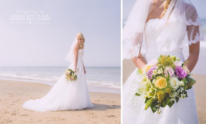 Zomers huwelijk op het strand van Scheveningen