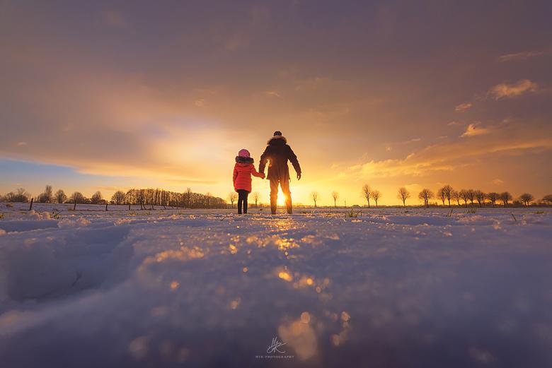 Winterse Zon