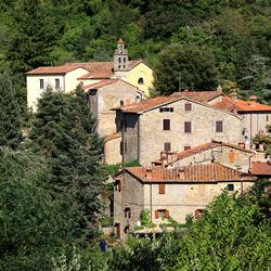 Dorpje in Toscane
