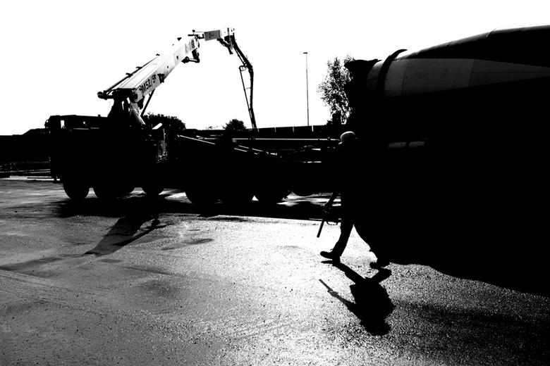 Werkman cementwagen - Naar aanleiding van de publicaties in verschillende kranten heeft Rijkswaterstaat contact met mij opgenomen met het verzoek de s