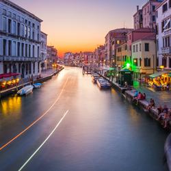 Schemer in Venetië!